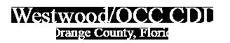Westwood/OCC CDD Orange County, Florida
